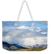 Mt Denali In The Clouds Weekender Tote Bag