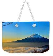 Mt. Fugi Weekender Tote Bag