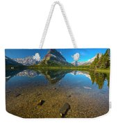 Mt. Grinnell Weekender Tote Bag by Gary Lengyel