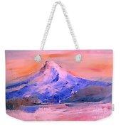 Mt Hood 04 Weekender Tote Bag