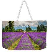 Mt. Hood And Lavender Weekender Tote Bag