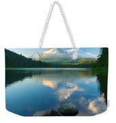 Mt. Hood Cirrus Explosion Weekender Tote Bag