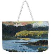 Mt Hood Dazzle Weekender Tote Bag
