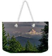 Mt Hood From Grassy Knoll Weekender Tote Bag