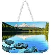 Mt. Hood In Trillium Lake Weekender Tote Bag