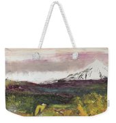 Mt Hood Mirage Weekender Tote Bag