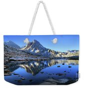 Mt Huxley Over Saphire Lake Morning - John Muir Trail Weekender Tote Bag