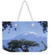 Mt. Kilimanjaro,moshi,tanzania Weekender Tote Bag