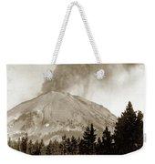 Mt. Lassen In Eruption Oct. 6, 1915 Weekender Tote Bag