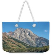 Mt Moran At The Grand Tetons Weekender Tote Bag