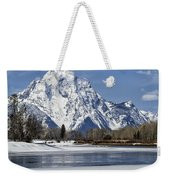 Mt Moran From Oxbow Bend Weekender Tote Bag