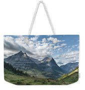 Mt. Oberlin From Logan Pass Weekender Tote Bag by Jemmy Archer