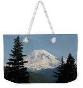 Mt Rainer From The Hills In Packwood Wa  Weekender Tote Bag