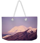 Mt Rainer From The Wenas Valley  Weekender Tote Bag