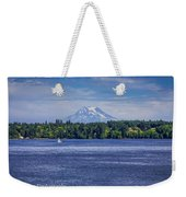 Mt Rainier Blues Weekender Tote Bag