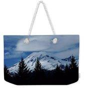 Mt Rainier Weekender Tote Bag
