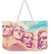 Mt Rushmore Weekender Tote Bag