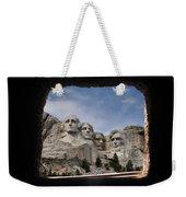 Mt Rushmore Tunnel Weekender Tote Bag