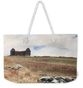 Mt Savior Barn Weekender Tote Bag