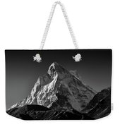 Mt Shivling Above Tapovan Weekender Tote Bag