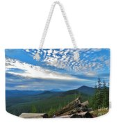 Mt. St. Helens And Red Mountain Weekender Tote Bag
