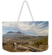 Mt St Helens Weekender Tote Bag by Brian Harig