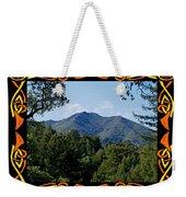 Mt Tamalpais Framed 1 Weekender Tote Bag