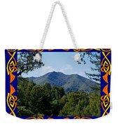 Mt Tamalpais Framed 2 Weekender Tote Bag