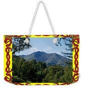 Mt Tamalpais Framed 4 Weekender Tote Bag