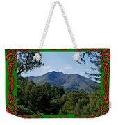 Mt Tamalpais Framed 5 Weekender Tote Bag