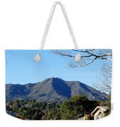 Mt Tamalpais View From Mill Valley Weekender Tote Bag