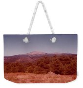 Mt Taylor In New Mexico  Weekender Tote Bag