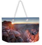 Mt Whitney And Pinnacles Sunrise - John Muir Trail Weekender Tote Bag