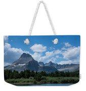 Mt Wilbur In Glacier National Park Weekender Tote Bag