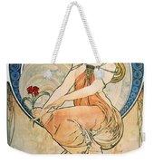 Mucha: Poster, 1898 Weekender Tote Bag