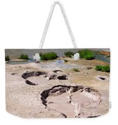 Mud Volcano Area In Yellowstone National Park Weekender Tote Bag