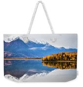 Mudd Lake Reflections Weekender Tote Bag