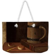 Mug Book Biscuits And Match Weekender Tote Bag