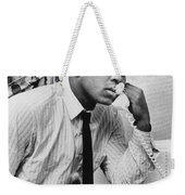 Muhammad Ali (1942- ) Weekender Tote Bag by Granger