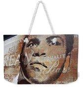 Muhammad Ali Mural Weekender Tote Bag