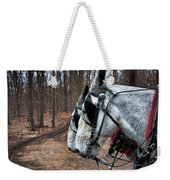 Mules At Sugar Camp Weekender Tote Bag
