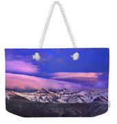 Mulhacen And Alcazaba At Sunset Weekender Tote Bag