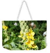 Mullein Wildflower Weekender Tote Bag
