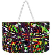 Multi Color Abstract Weekender Tote Bag