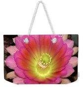 Multi Color Flower Weekender Tote Bag
