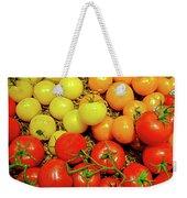 Multi Colored Tomatoes Weekender Tote Bag