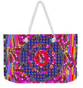 Multi Layered Colorful Flowers Christmas Wreath Style By Navinjoshi At Fineartamerica  Weekender Tote Bag