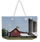Multi Silo Farm Weekender Tote Bag
