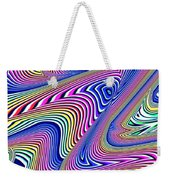 Multicolor Swirls Weekender Tote Bag