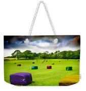 Multicolored Bales Fantasy Weekender Tote Bag